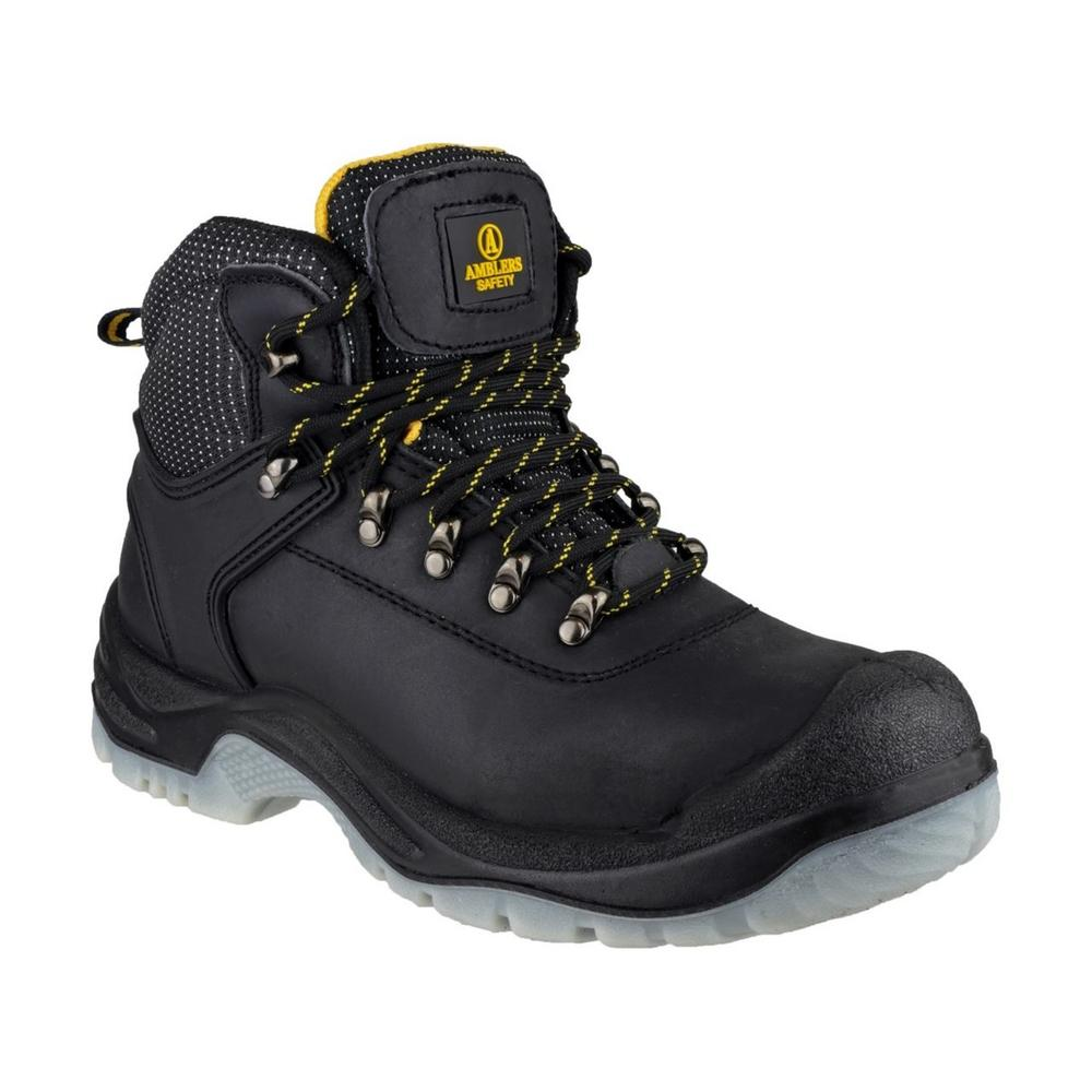 Amblers FS199 Black leather Safety Hiker Boot