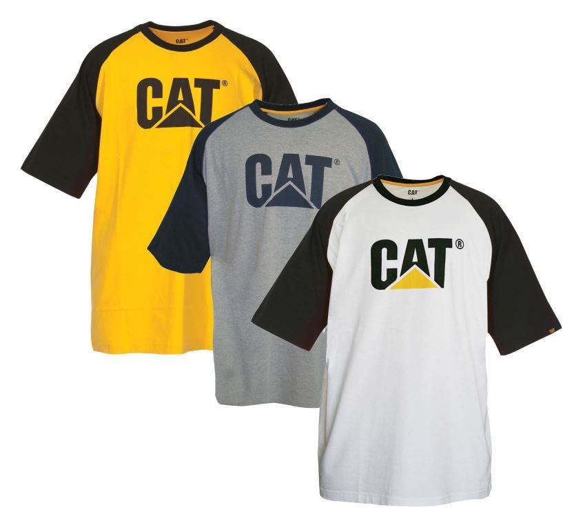 Caterpillar C1510226 Raglan Trademark Men's Workwear T-Shirt