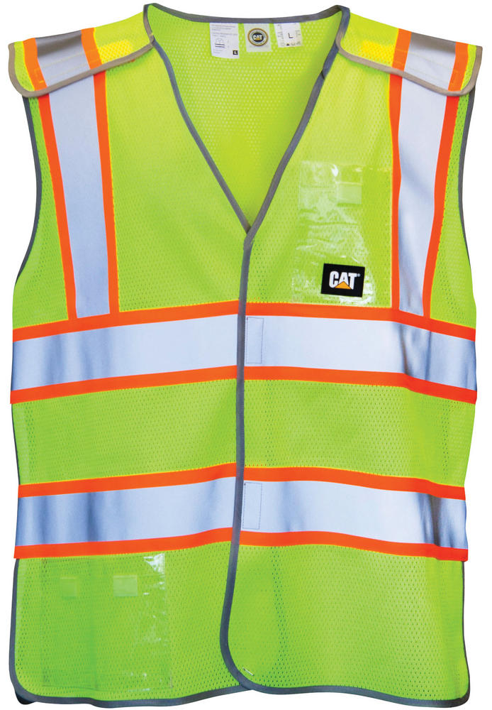 Caterpillar C1322029 Neon Hi-visibility vest