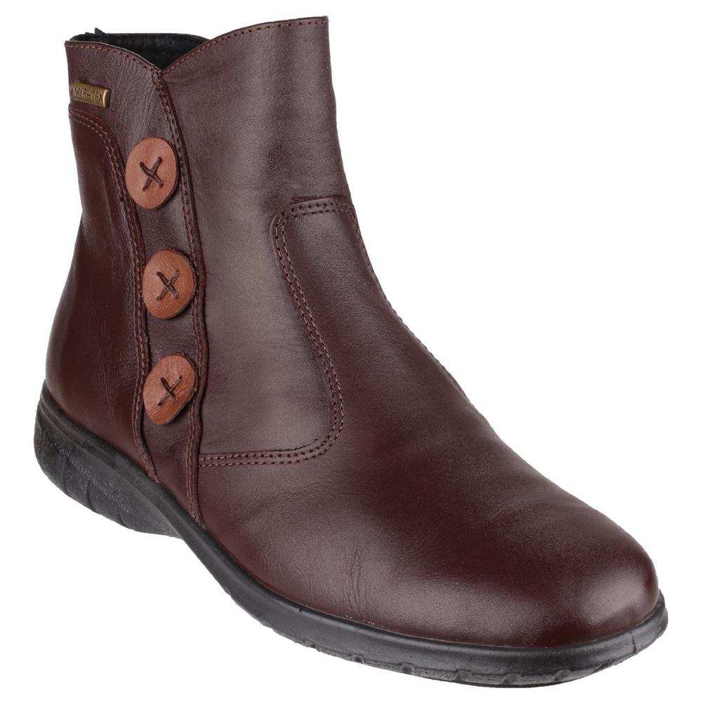 Cotswold Dowdswell Leather Womens Zip-up Fashion Ankle Boot