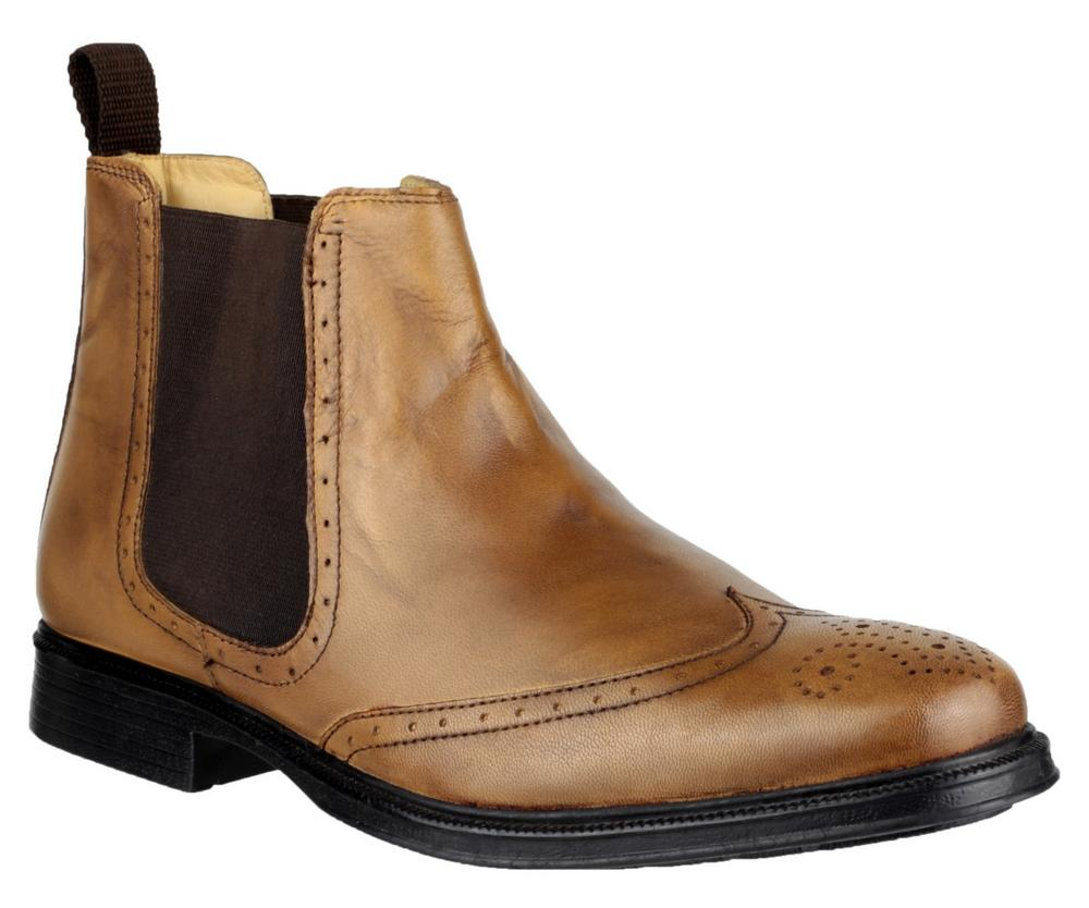 Cotswold Nettleton Men's Slip On Leather Dealer Ankle Boots