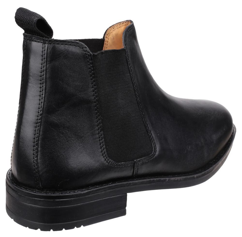 Cotswold Colesbourne Men's Black Flexible Fit Slip On Fastening Boots