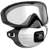 JSP FilterSpec Pro Goggle Mask Combo FMP2V Eye and Respiratory Protection Valved