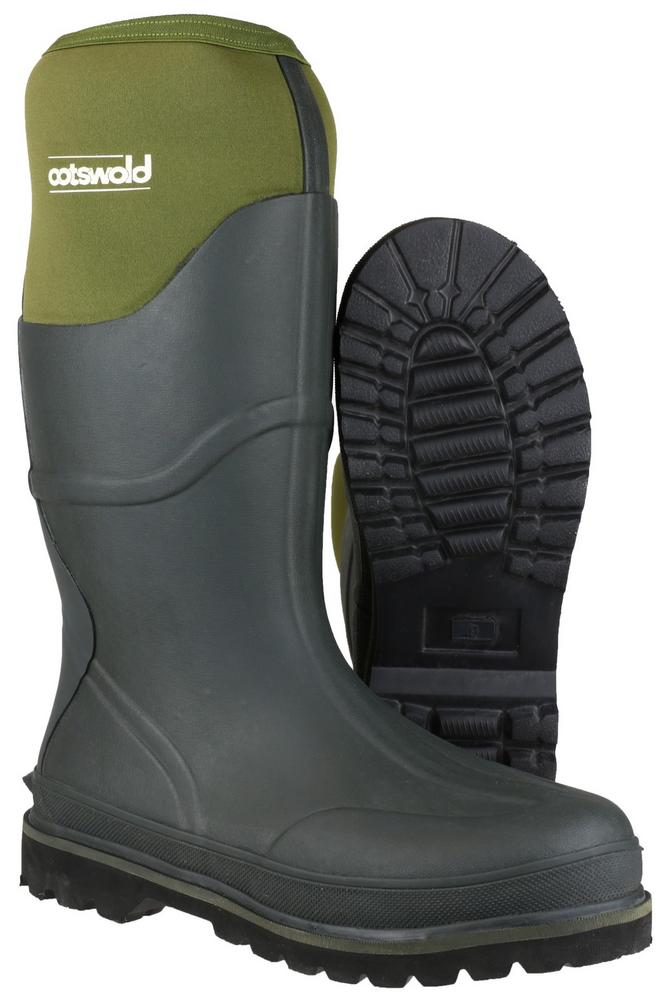 Cotswold Ranger Neoprene Men's Rubber Wellington Boots
