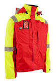Wenaas Offshore Winter FR Jacket Yellow & Red 56855-19101, Size - Medium