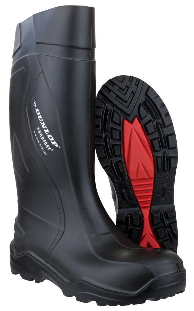 Dunlop Purofort+ C762041 Safety Wellington Boots Black