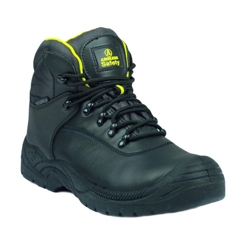 Amblers FS220 Unisex Anti-Static Waterproof S3 Safety Boot - Black