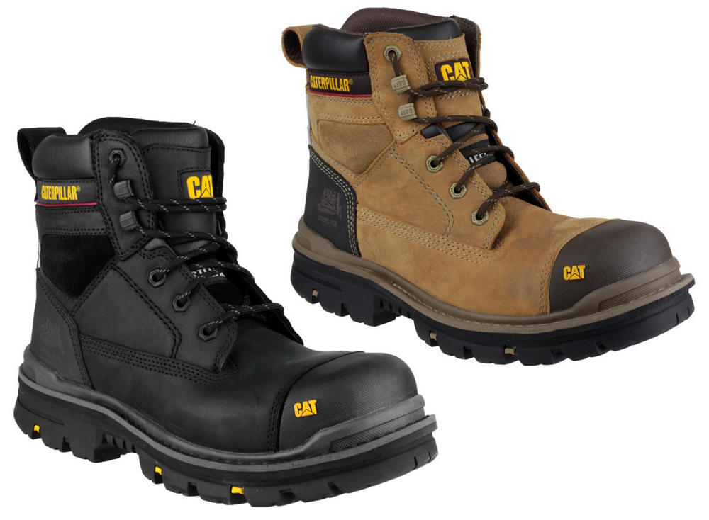 85b57420d14 Caterpillar CAT Gravel 6 Inch Men's Black Lace-up Safety Boots