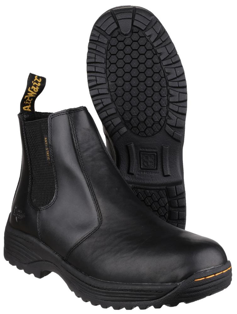 Dr Martens Cottam Slip Resistance Anti Static Safety Boots Black