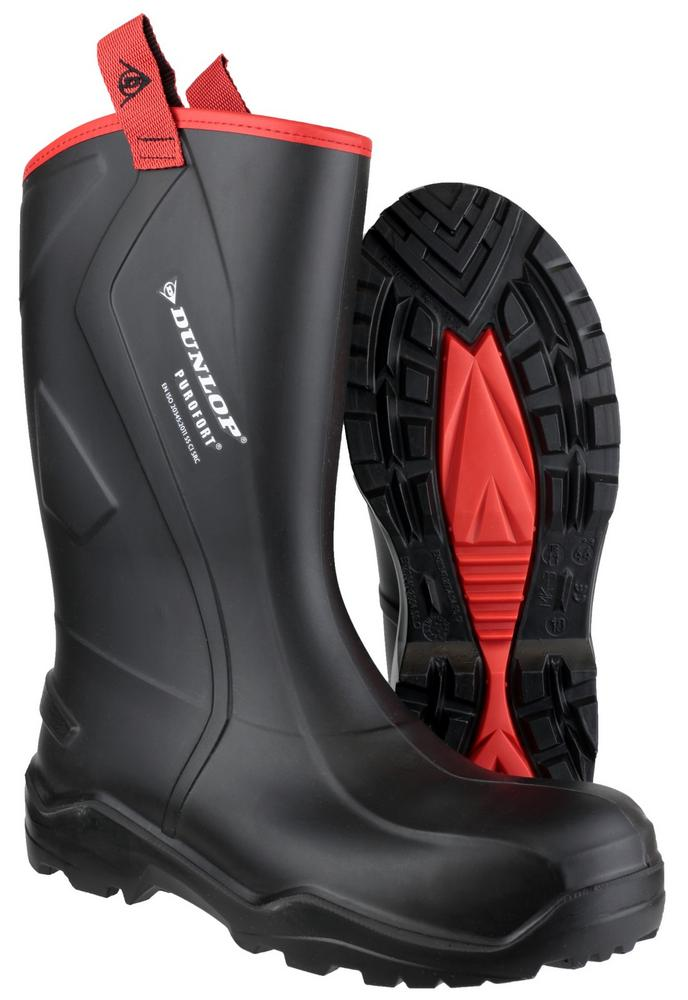 Dunlop Men's Purofort+ C762043 Rugged Full Safety Boots Wellingtons