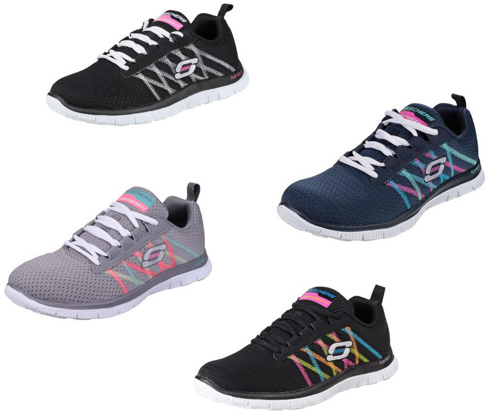 Skechers Flex Appeal - Something Fun Trainers Sports Womens Shoes