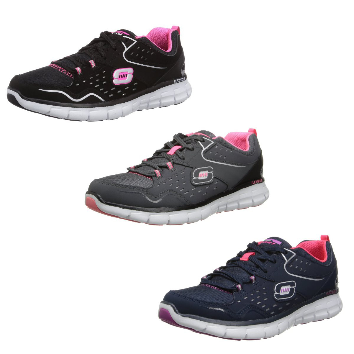 5c316170c8c7 Skechers Synergy Front Row SK21771 Women Trainers