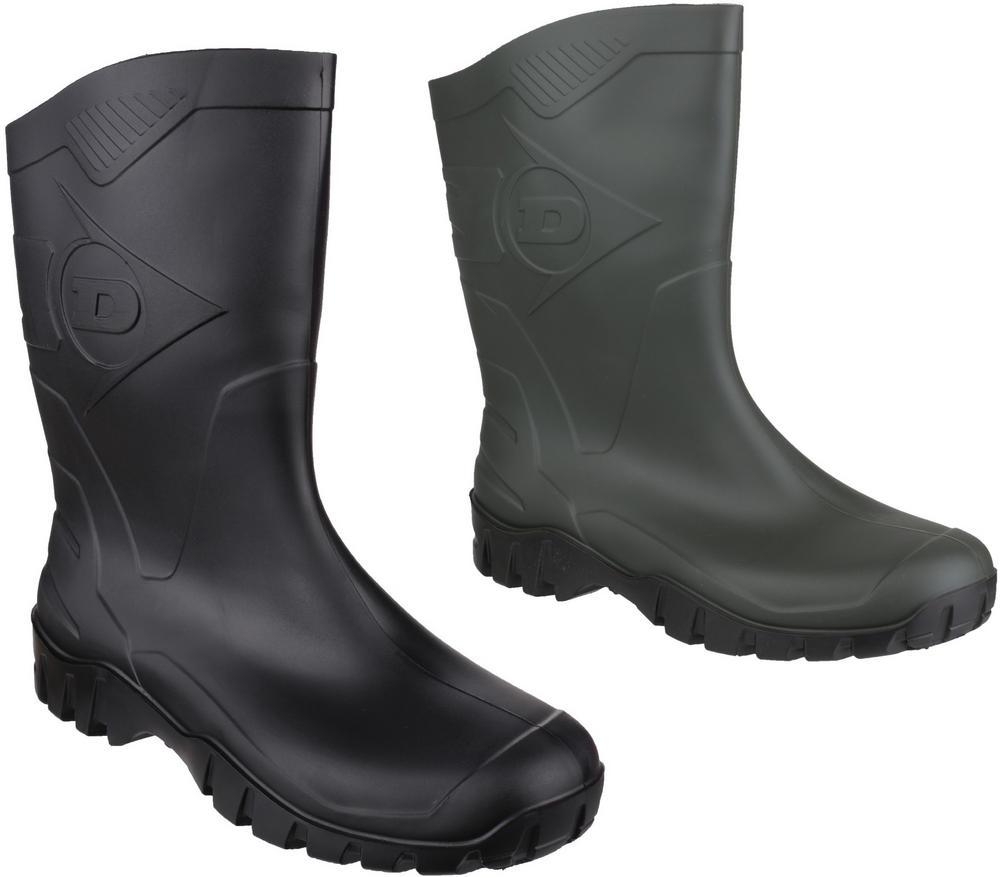 Dunlop Dee Calf K580011 Slip Resistant PVC Slip On Fastening Wellington Boots
