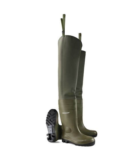 Dunlop 142 VP PP Waterproof Thigh Waders