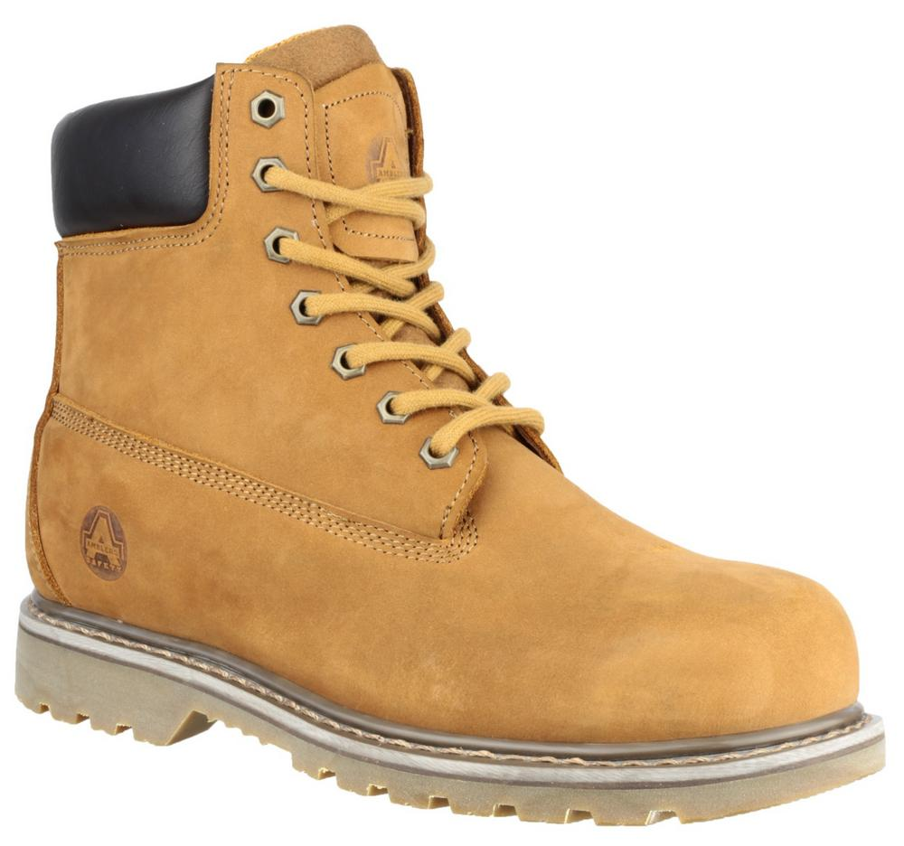 Amblers FS169 Welted Lace-up Leather Work Safety Boots
