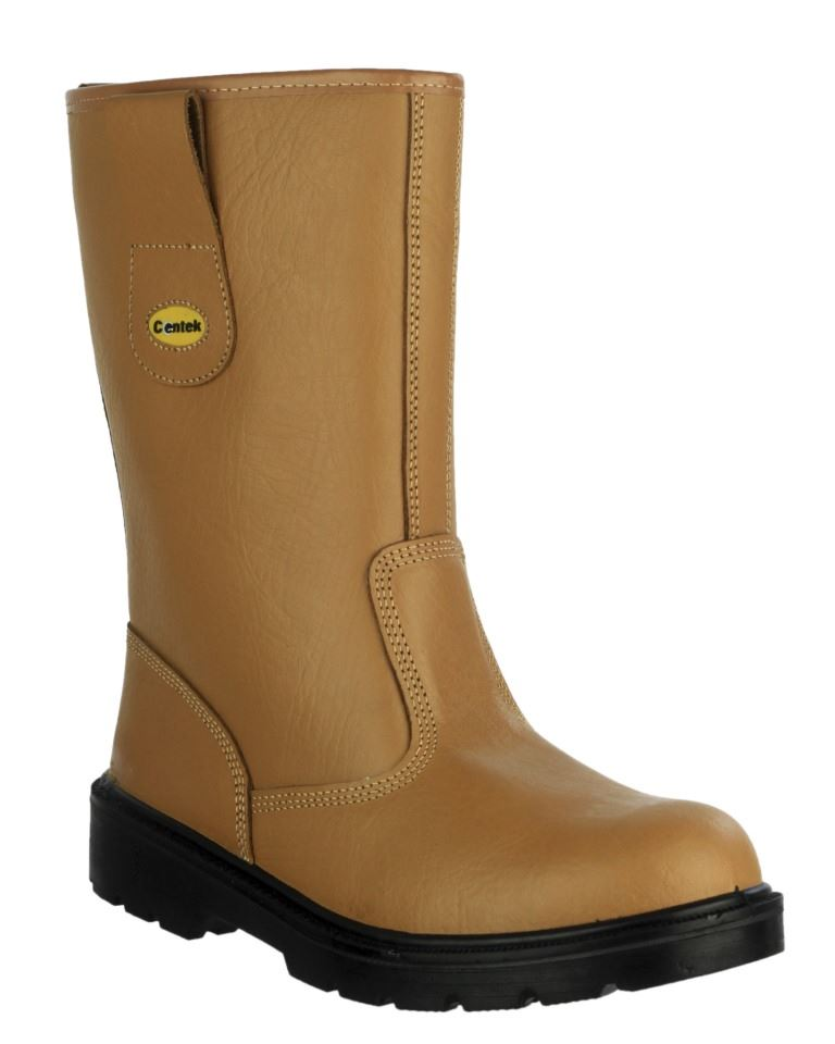 78582ab0b70 Amblers FS334 Unisex SB Steel Toe Pull on Safety Rigger Boot