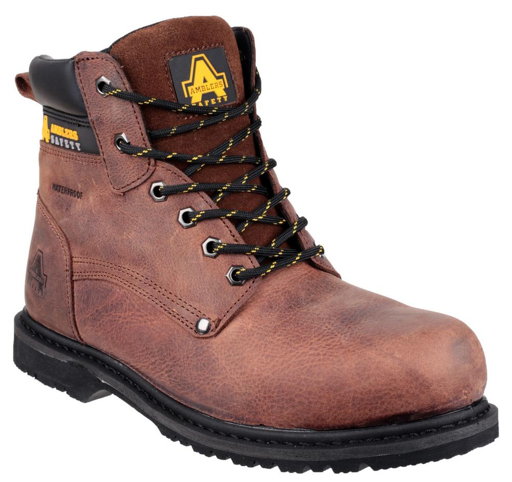 Amblers Safety 145 Welted S3 WP Steel Toe-cap and Mid-sole Safety Boots
