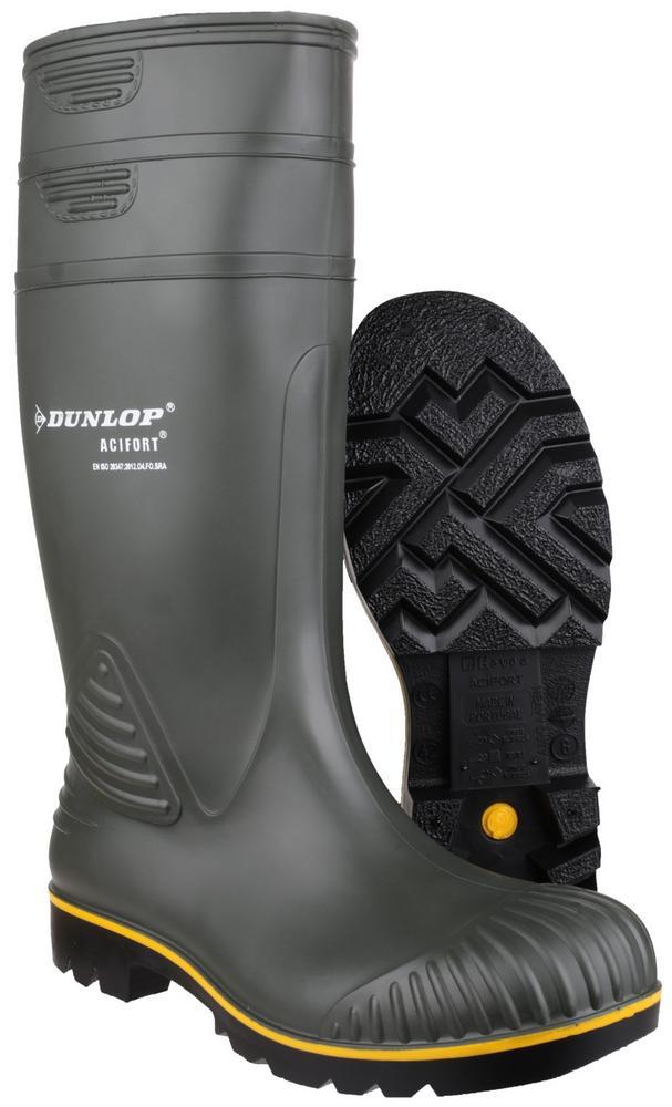 Dunlop Acifort Farm Work Non Safety Wellingtons