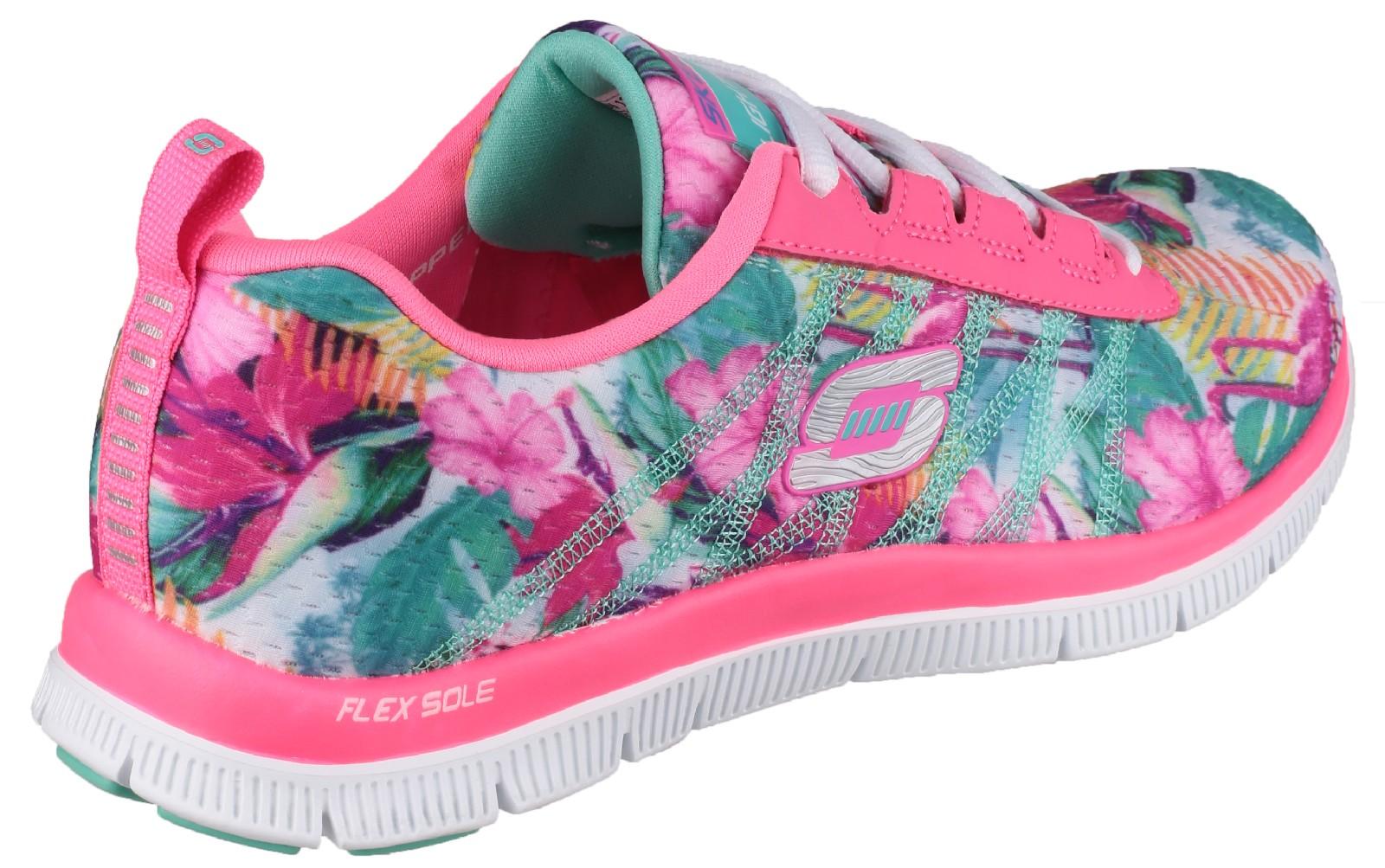 6b6b6729bc56 Skechers Flex Appeal Floral Bloom Sports Shoes