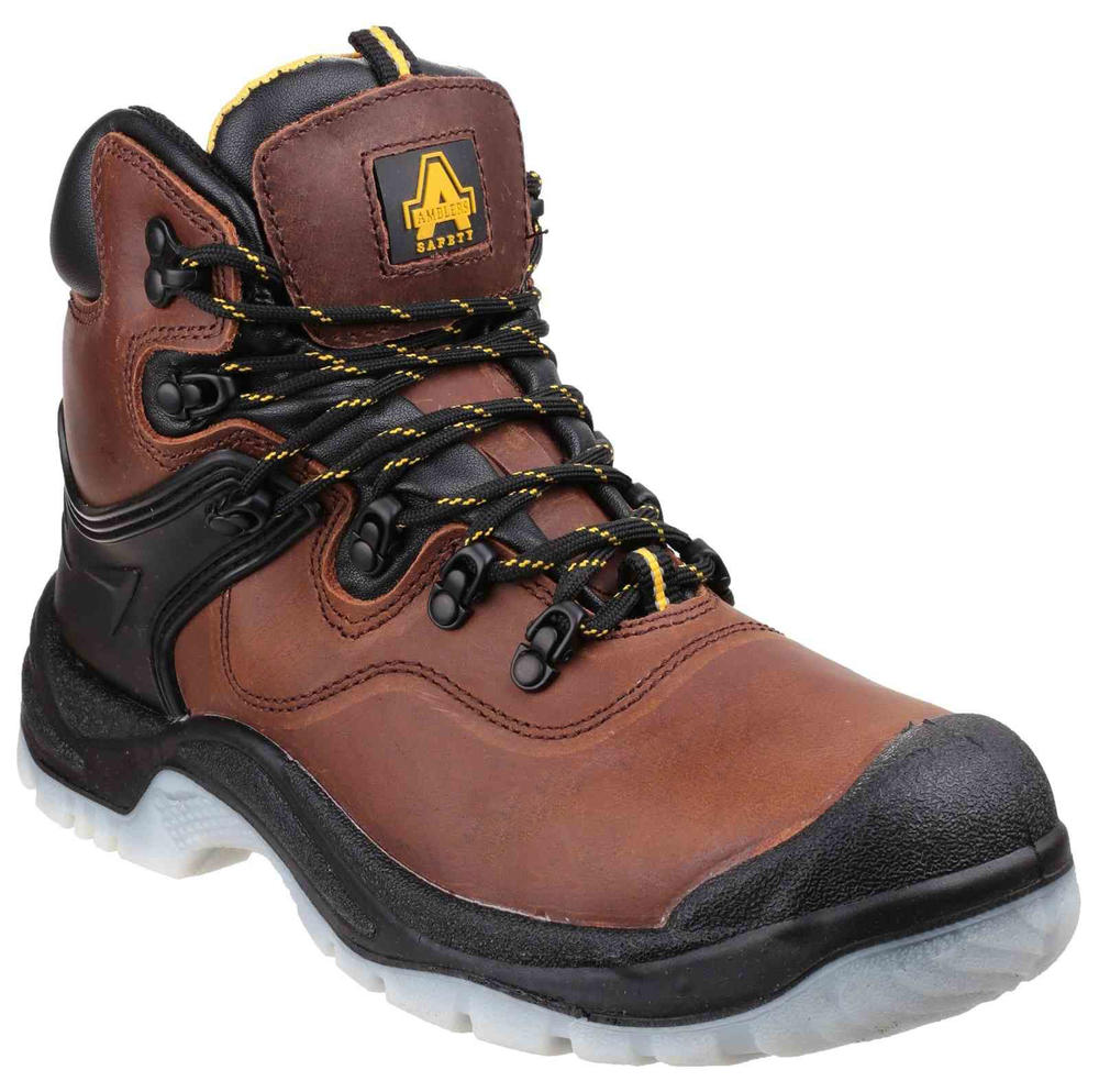 Amblers Safety FS197 Brown Waterproof Slip Resistant S3 Safety Boot