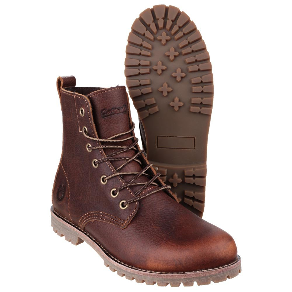 Cotswold Elm Oil Resistant Out-sole Leather Womens Boots