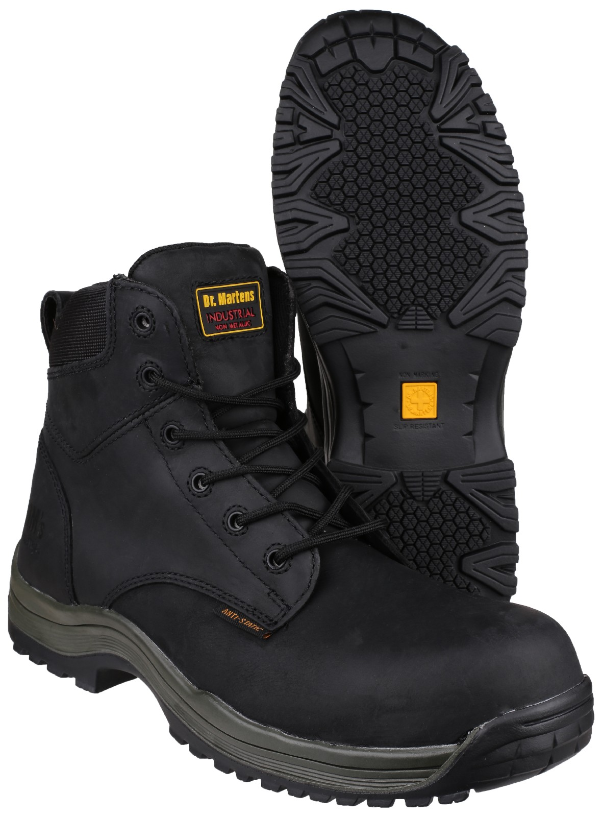 dr martens steel boots