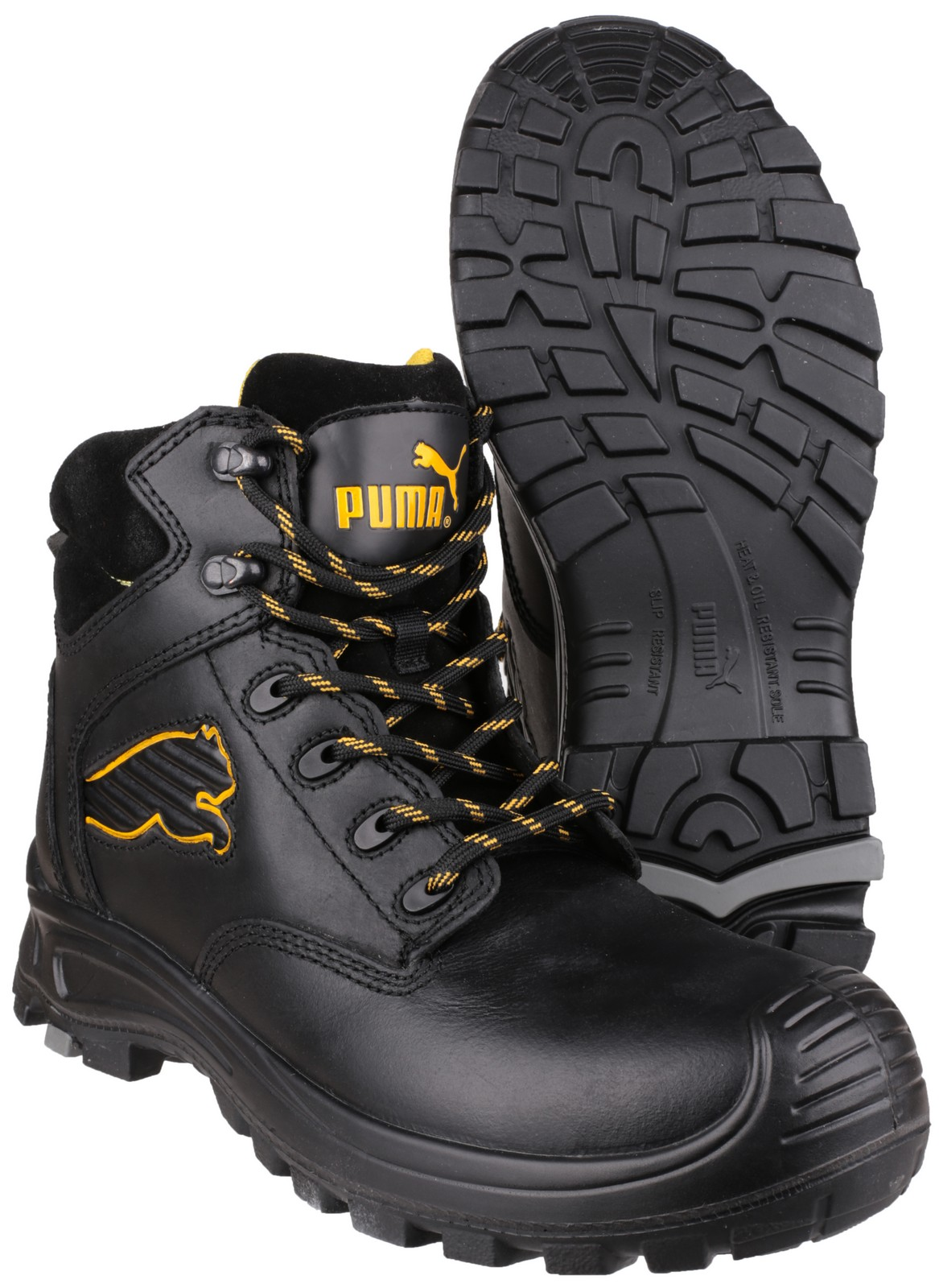 1cc7589e7d8d Puma Safety Borneo Mid Safety Footwear Boots