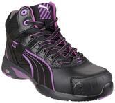 0edac560de791e Puma WMNS Mid Safety Footwear Boots - Black