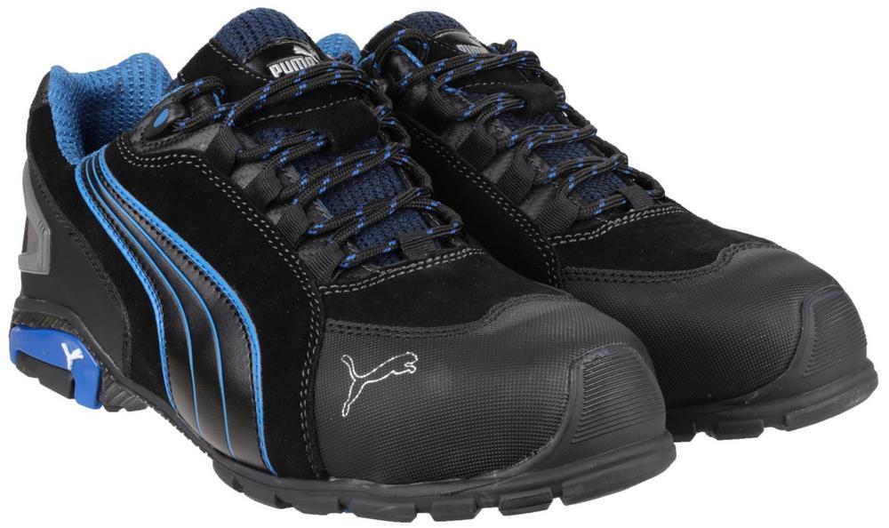 4daf12e91e7b Puma Safety Rio Low Safety Shoes Black