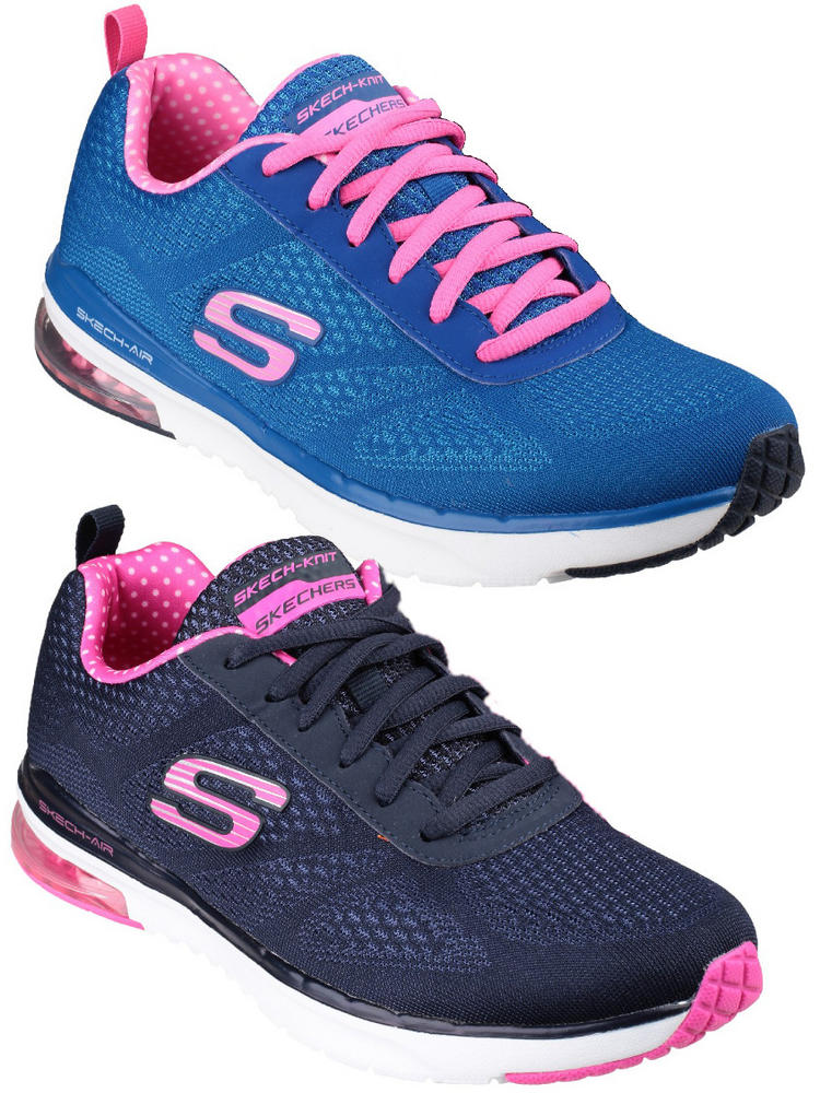 run shoes buy popular cute cheap Skechers Skech Air Infinity Sports Trainers Shoes
