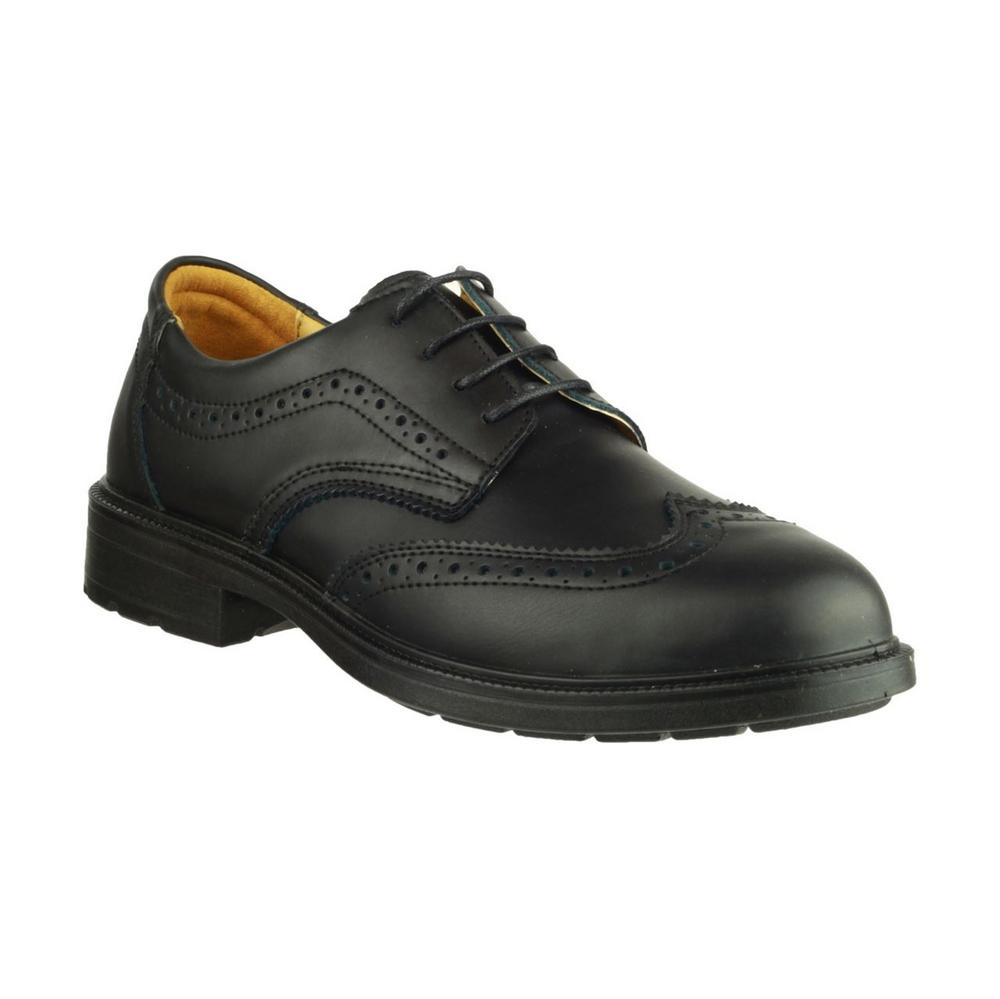 Amblers FS44 Executive Brogue Wingtip Shoe S1 Safe - black