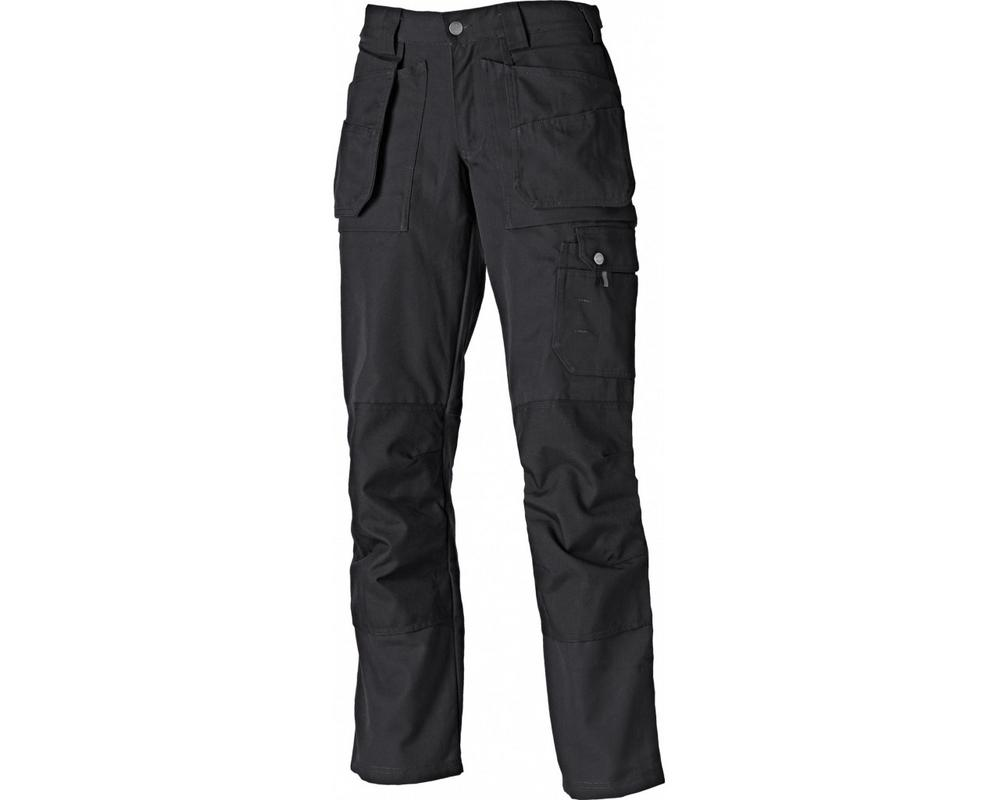 "Dickies Eisenhower Eh26000 Black Ladies Trousers 32"" Leg"