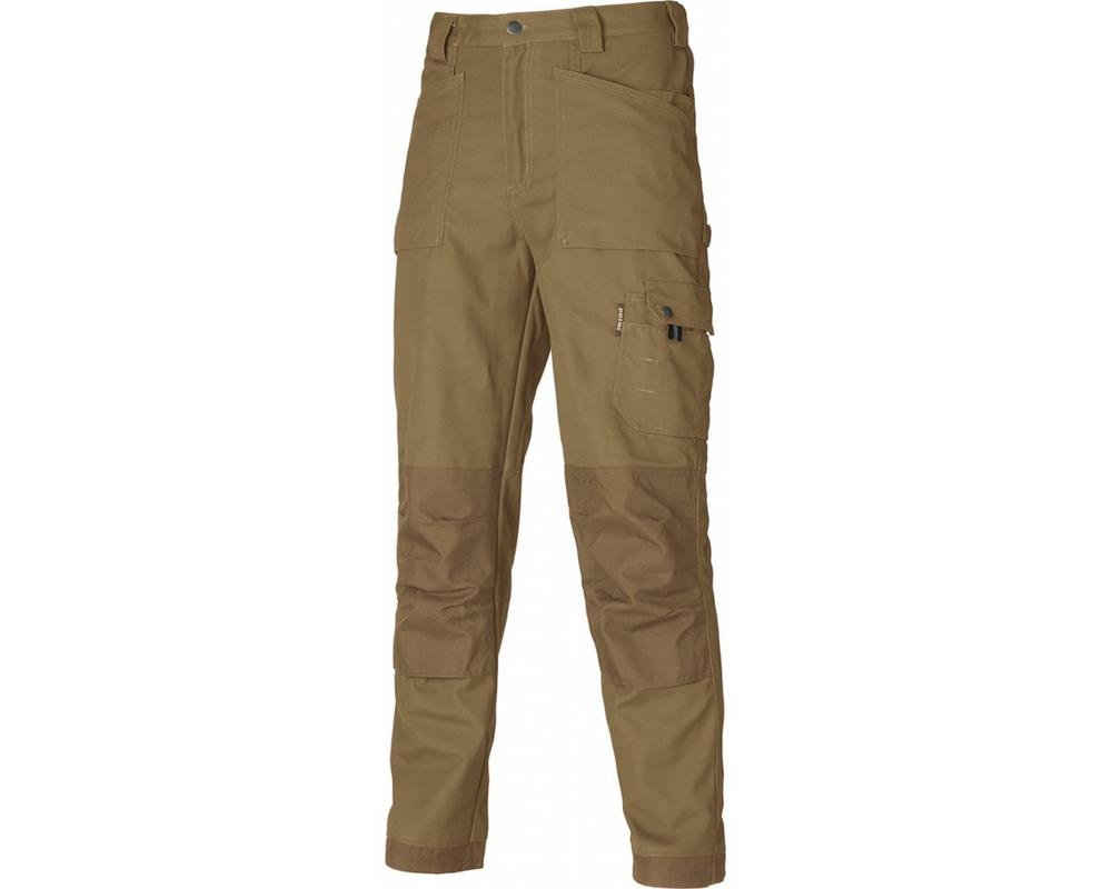 Dickies Eisenhower Multi-Pocket Trousers Kahki Short Leg