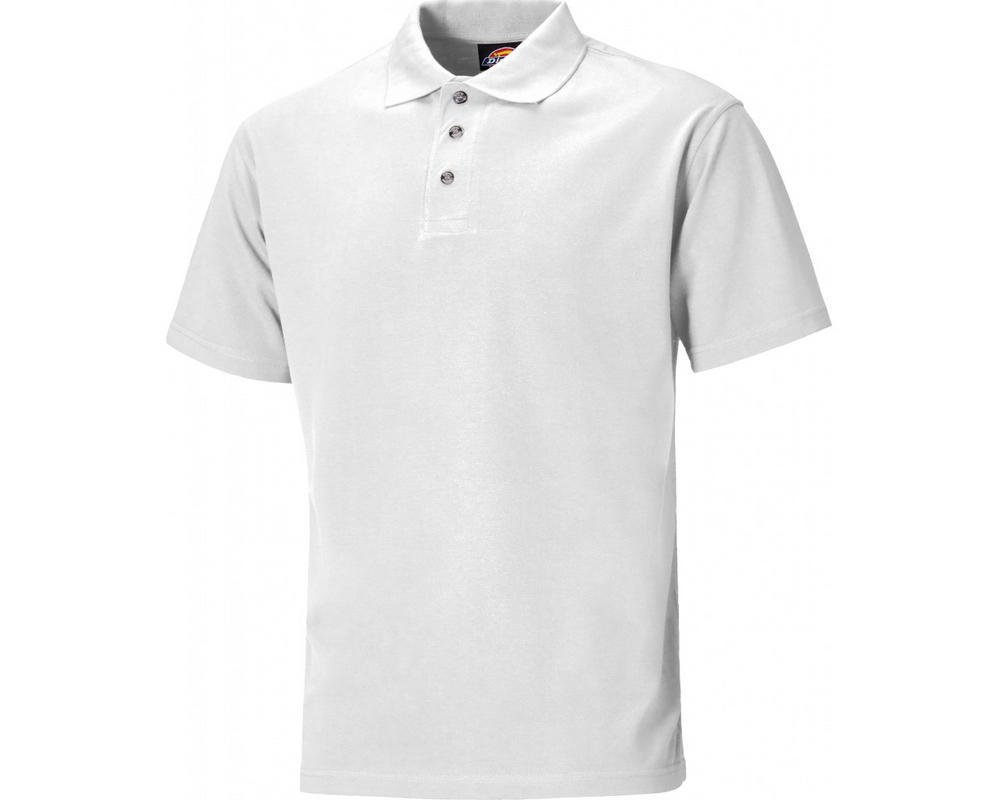 Dickies Sh21220 White Polo Shirt