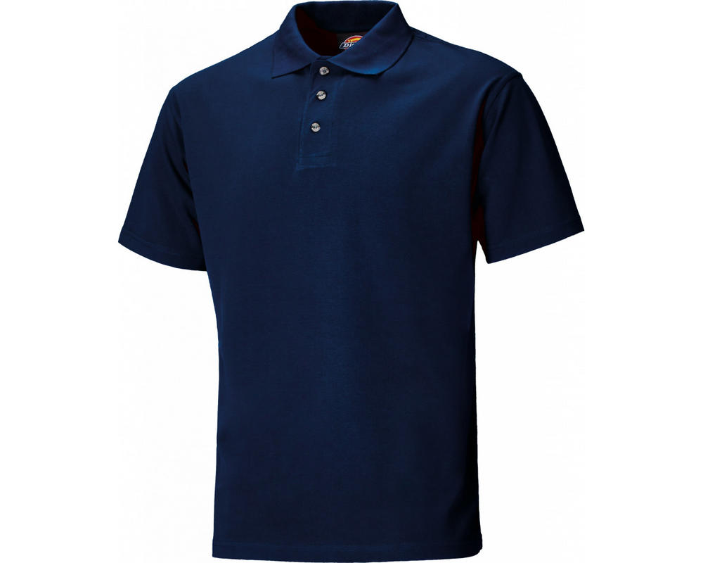 Dickies Sh21220 Polo Shirt Navy