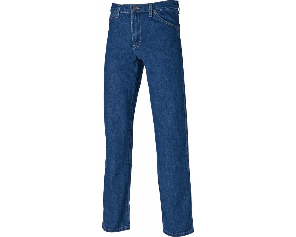Dickies WD1693 Long Leg Blue Denim Jeans