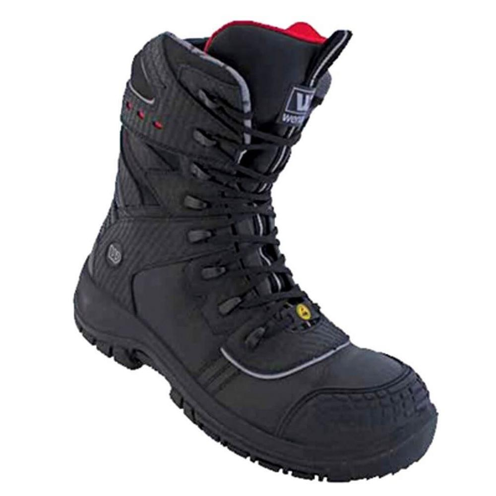 Wenaas Oilmaster 2 S3 ESD Side Zip Safety Boot