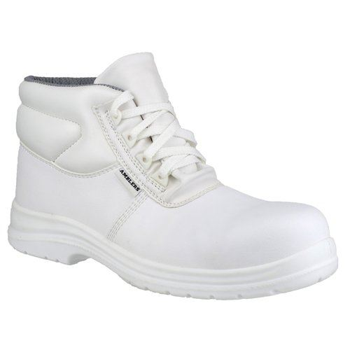 Amblers FS513 Unisex Lightweight White Safety Boots