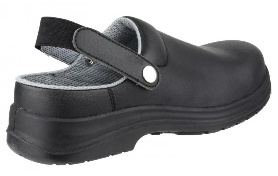 Ambleurs Sécurité Mens Fs514 Style Sabots Chaussures De Sécurité Imperméable Noir RnAakh