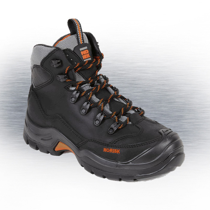 No Risk Mackenzie S3 Black Safety Boot