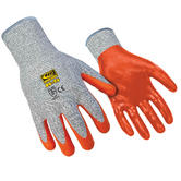 Ringers R-5 Nitrile Coated CUT 5 Resistant Hand Protection Work Gloves, Size - XL