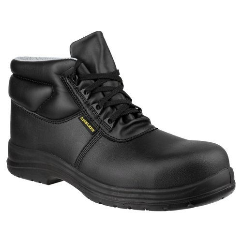 Amblers Safety Men's FS663 ESD Waterproof Safety Boots Black