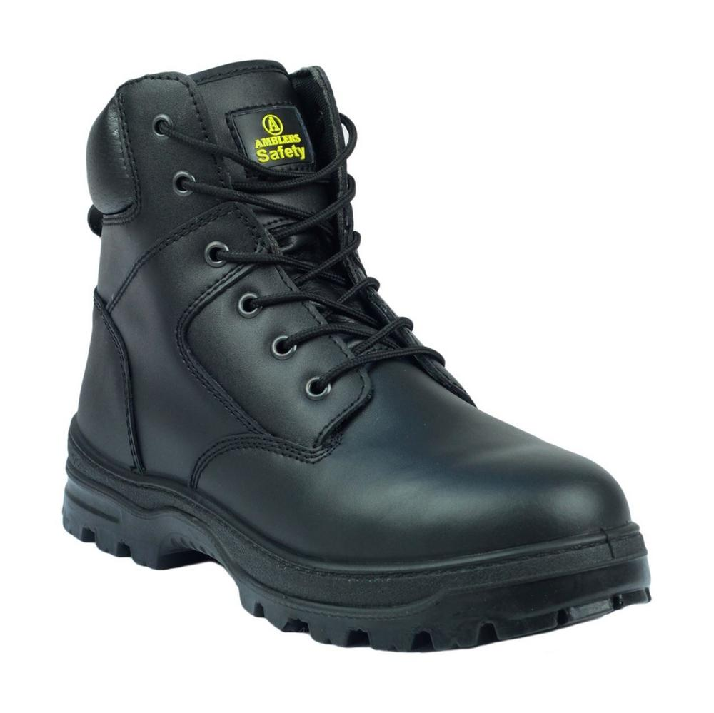 Amblers FS84 Unisex S1 Antistatic Safety Boot - Black