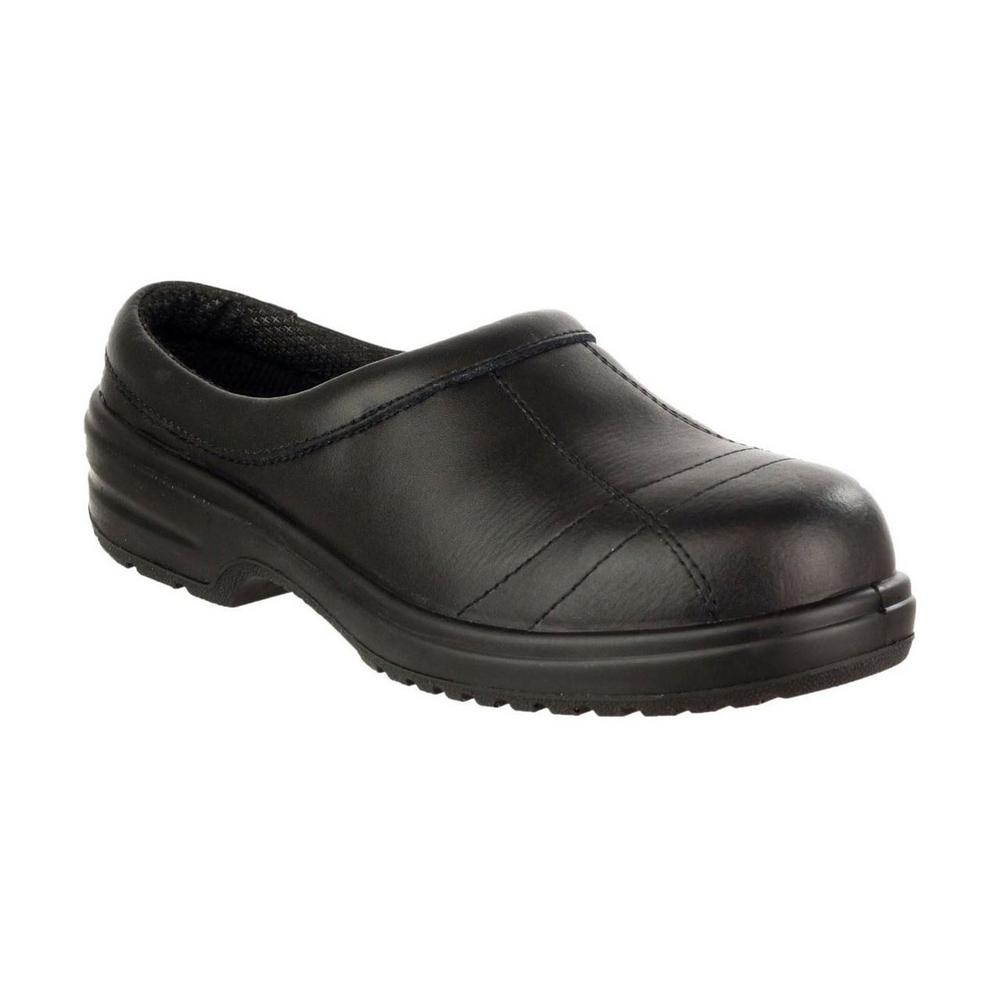 Amblers FS93C Womens S1 Slip On Safety Shoe Black