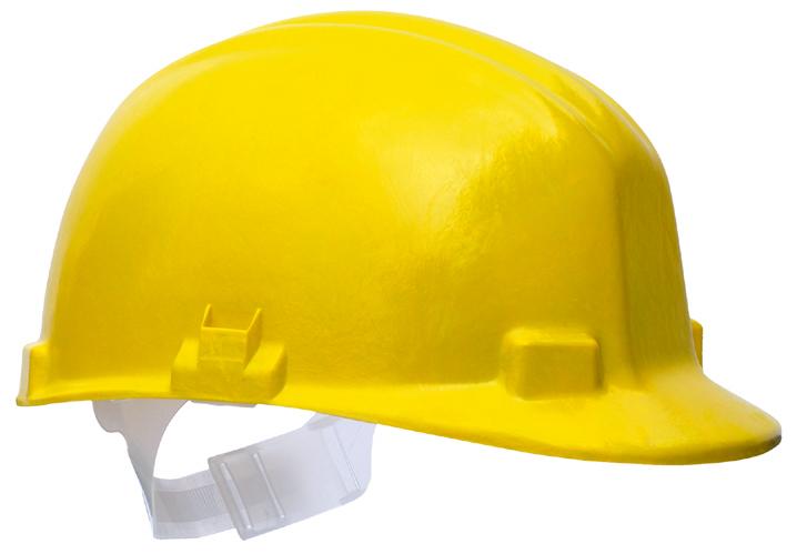 Centurion Vulcan S22 Fibreglass Safety Helmet Radiant Heat Resistant Yellow