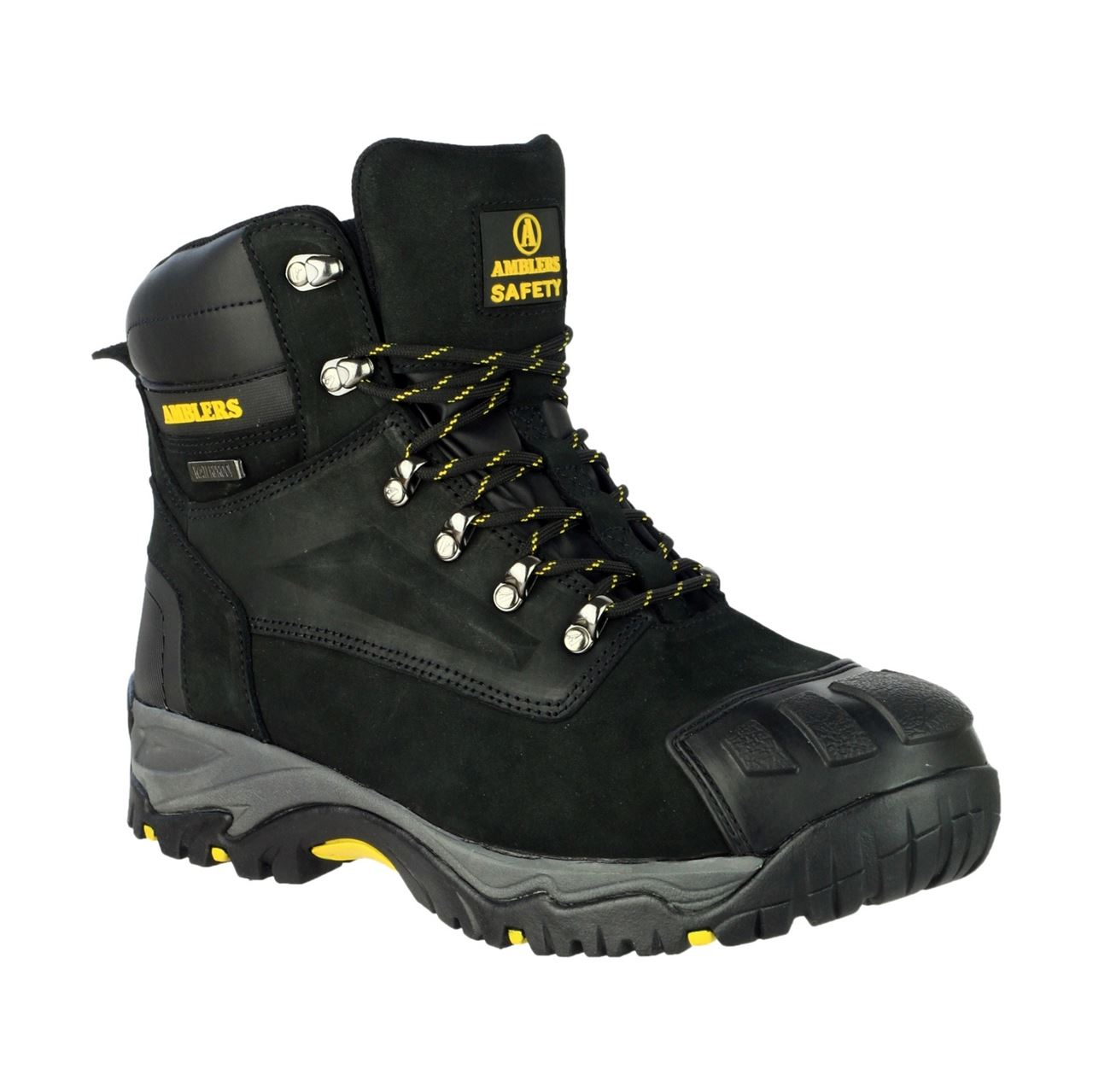 Amblers FS987 Water Resistant S3 Safety Boots with Metatarsal Protection