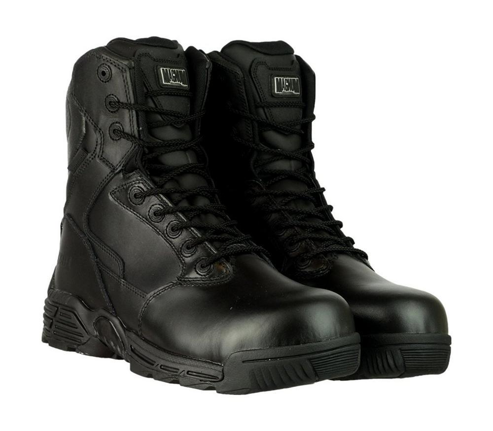 Magnum Stealth Force 8.0 SZ WPI Side Zip Safety Boot - Size 8UK