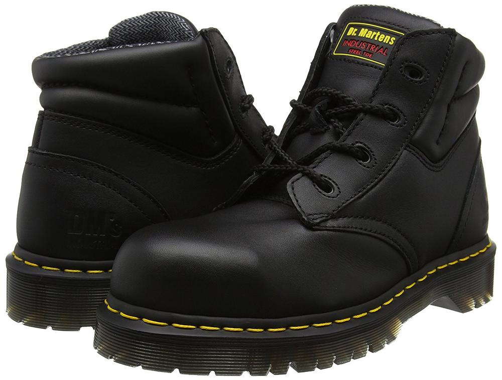 Dr Martens 6632 Icon Greasy Leather 4 Eyelet Chukka Safety Boot