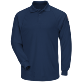 Bulwark Polo Shirt SMP2NV FR Arc Resistant Cat 2 Rating Navy