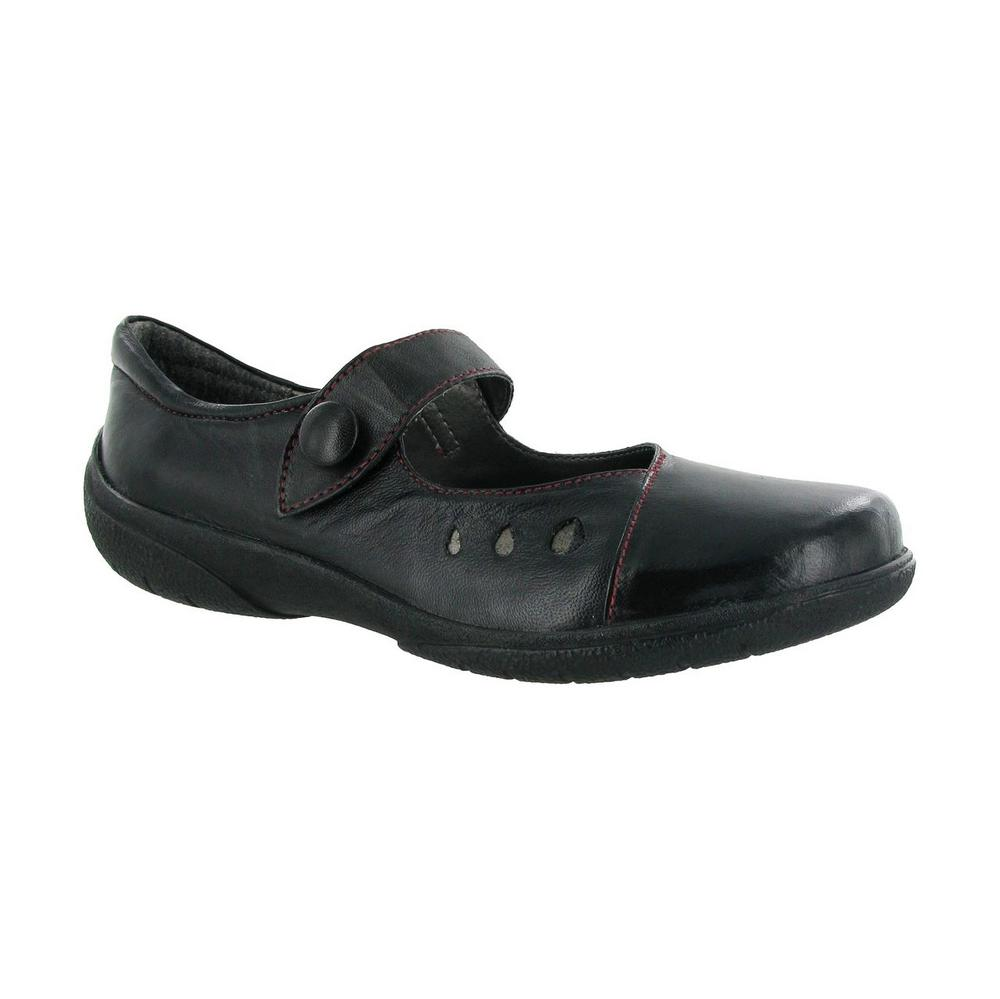 Amblers Lambeth Velcro Womens Casual Shoes (Non Safety)